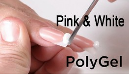 Pink & White poly gel